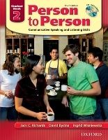 OUP ELT PERSON TO PERSON 3rd Edition 2 STUDENT´S BOOK + CD - BYCINA,... cena od 405 Kč