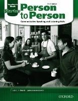 OUP ELT PERSON TO PERSON 3rd Edition STARTER TEACHER´S BOOK - BYCINA... cena od 365 Kč