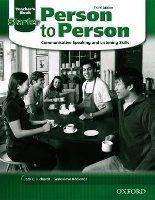 OUP ELT PERSON TO PERSON 3rd Edition STARTER TEACHER´S BOOK - BYCINA... cena od 384 Kč