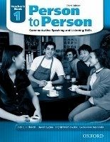 OUP ELT PERSON TO PERSON 3rd Edition 1 TEACHER´S BOOK - BYCINA, D., ... cena od 365 Kč