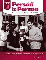 OUP ELT PERSON TO PERSON 3rd Edition 2 TEACHER´S BOOK - BYCINA, D., ... cena od 365 Kč
