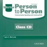 OUP ELT PERSON TO PERSON 3rd Edition STARTER AUDIO CD - BYCINA, D., ... cena od 439 Kč