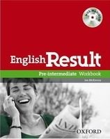 OUP ELT ENGLISH RESULT PRE-INTERMEDIATE WORKBOOK WITHOUT KEY + MULTI... cena od 241 Kč