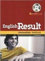 OUP ELT ENGLISH RESULT INTERMEDIATE WORKBOOK WITHOUT KEY + MULTIROM ... cena od 253 Kč