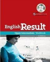 OUP ELT ENGLISH RESULT UPPER INTERMEDIATE WORKBOOK WITHOUT KEY + MUL... cena od 241 Kč