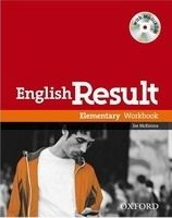 OUP ELT ENGLISH RESULT ELEMENTARY WORKBOOK WITH KEY + MULTIROM PACK ... cena od 241 Kč