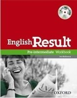OUP ELT ENGLISH RESULT PRE-INTERMEDIATE WORKBOOK WITH KEY + MULTIROM... cena od 253 Kč