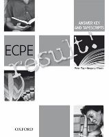 OUP ELT ECPE RESULT! ANSWER KEY and TAPESCRIPTS - MAY, P. cena od 313 Kč