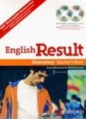 OUP ELT ENGLISH RESULT ELEMENTARY TEACHER´S RESOURCE BOOK WITH DVD A... cena od 557 Kč