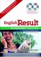 OUP ELT ENGLISH RESULT PRE-INTERMEDIATE TEACHER´S RESOURCE BOOK WITH... cena od 586 Kč
