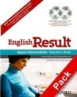 OUP ELT ENGLISH RESULT UPPER INTERMEDIATE TEACHER´S RESOURCE BOOK WI... cena od 557 Kč