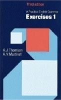 OUP ELT A PRACTICAL ENGLISH GRAMMAR: EXERCISES 1 Third Edition - MAR... cena od 338 Kč