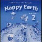OUP ELT HAPPY EARTH 2 CLASS AUDIO CDs /2/ - BOWLER, B., PARMINTER, S... cena od 418 Kč