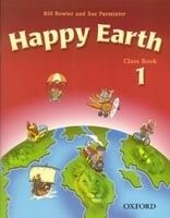 OUP ELT HAPPY EARTH 1 CLASS BOOK - BOWLER, B., PARMINTER, S. cena od 257 Kč