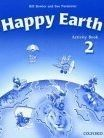 OUP ELT HAPPY EARTH 2 ACTIVITY BOOK - BOWLER, B., PARMINTER, S. cena od 172 Kč