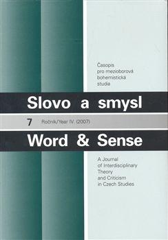 Academia, Univerzita Karlova v Slovo a smysl 7 / Word & Sense - Word & Sense cena od 189 Kč