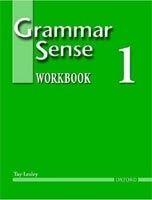 OUP ELT GRAMMAR SENSE 1 WORKBOOK - LESLEY, T. cena od 338 Kč