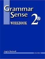 OUP ELT GRAMMAR SENSE 2 WORKBOOK A - BLACKWELL, A. cena od 181 Kč