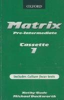 OUP ELT MATRIX PRE-INTERMEDIATE CLASS AUDIO CASSETTES /2/ - DUCKWORT... cena od 367 Kč