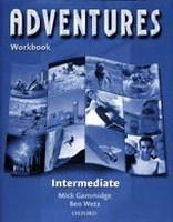 OUP ELT ADVENTURES INTERMEDIATE WORKBOOK - WETZ, B. cena od 201 Kč