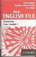 OUP ELT NEW ENGLISH FILE ELEMENTARY CLASS AUDIO CASSETTES /3/ - KOEN... cena od 900 Kč