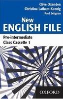 OUP ELT NEW ENGLISH FILE PRE-INTERMEDIATE CLASS AUDIO CASSETTES /3/ ... cena od 900 Kč