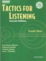 OUP ELT BASIC TACTICS FOR LISTENING Second Edition TEACHER´S BOOK WI... cena od 349 Kč
