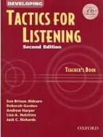 OUP ELT DEVELOPING TACTICS FOR LISTENING Second Edition TEACHER´S BO... cena od 454 Kč