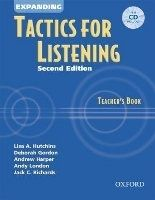 OUP ELT EXPANDING TACTICS FOR LISTENING Second Edition TEACHER´S BOO... cena od 454 Kč
