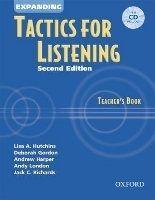 OUP ELT EXPANDING TACTICS FOR LISTENING Second Edition TEACHER´S BOO... cena od 477 Kč