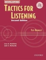 XXL obrazek OUP ELT DEVELOPING TACTICS FOR LISTENING Second Edition TEST BOOKLET...