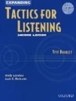 OUP ELT EXPANDING TACTICS FOR LISTENING Second Edition TEST BOOKLET ... cena od 297 Kč