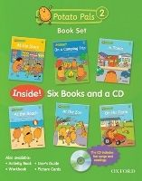 OUP ELT POTATO PALS 2 BOOK + AUDIO CD PACK - JACKSON, P., KIMURA, R. cena od 389 Kč