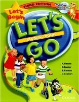 XXL obrazek OUP ELT LET´S GO Third Edition LET´S BEGIN STUDENT´S BOOK + CD-ROM -...