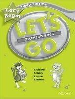 OUP ELT LET´S GO Third Edition LET´S BEGIN TEACHER´S BOOK - FRAZIER,... cena od 186 Kč