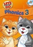 OUP ELT LET´S GO Third Edition 3 PHONICS BOOK + AUDIO CD PACK - FRAZ... cena od 312 Kč