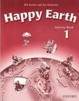 OUP ELT HAPPY EARTH 1 ACTIVITY BOOK WITH CD-ROM - BOWLER, B., PARMIN... cena od 224 Kč