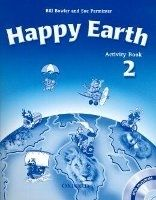OUP ELT HAPPY EARTH 2 ACTIVITY BOOK WITH CD-ROM - BOWLER, B., PARMIN... cena od 213 Kč