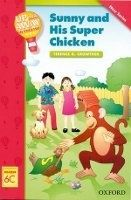 OUP ELT UP AND AWAY READERS 6: SUNNY AND HIS SUPER CHICKEN - CROWTHE... cena od 129 Kč