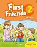 OUP ELT FIRST FRIENDS 2 COURSE BOOK + AUDIO CD PACK - IANNUZZI, S. cena od 244 Kč