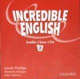 OUP ELT INCREDIBLE ENGLISH 2 CLASS AUDIO CDs /2/ - MORGAN, M., PHILL... cena od 439 Kč