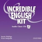 OUP ELT INCREDIBLE ENGLISH 5 CLASS AUDIO CDs /3/ - PHILLIPS, S., RED... cena od 466 Kč