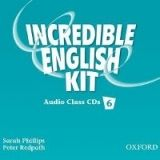 OUP ELT INCREDIBLE ENGLISH 6 CLASS AUDIO CDs /3/ - PHILLIPS, S., RED... cena od 493 Kč