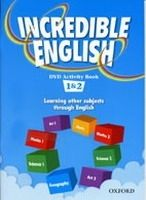 XXL obrazek OUP ELT INCREDIBLE ENGLISH 1+2 DVD ACTIVITY BOOK - MORGAN, M., PHILL...