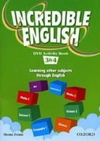 XXL obrazek OUP ELT INCREDIBLE ENGLISH 3+4 DVD ACTIVITY BOOK - MORGAN, M., PHILL...