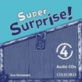 OUP ELT SUPER SURPRISE 4 CLASS AUDIO CD - MOHAMED, S. cena od 418 Kč