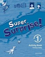 OUP ELT SUPER SURPRISE 1 ACTIVITY BOOK AND MULTIROM PACK - MOHAMED, ... cena od 177 Kč