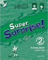 OUP ELT SUPER SURPRISE 2 ACTIVITY BOOK AND MULTIROM PACK - MOHAMED, ... cena od 172 Kč