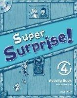 OUP ELT SUPER SURPRISE 4 ACTIVITY BOOK AND MULTIROM PACK - MOHAMED, ... cena od 172 Kč