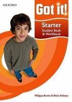 OUP ELT GOT IT! STARTER STUDENT´S BOOK + CD-ROM PACK - BOWEN, P., DE... cena od 582 Kč